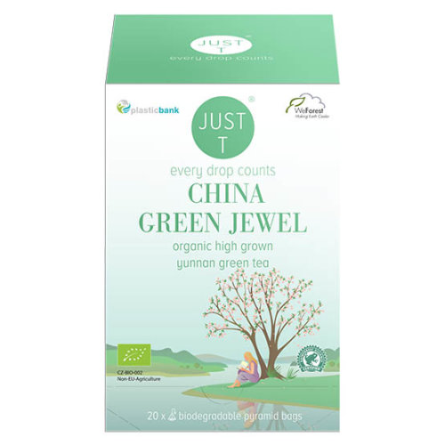 Just T China green jewel