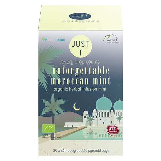 Just T Unforgettable moroccan mint